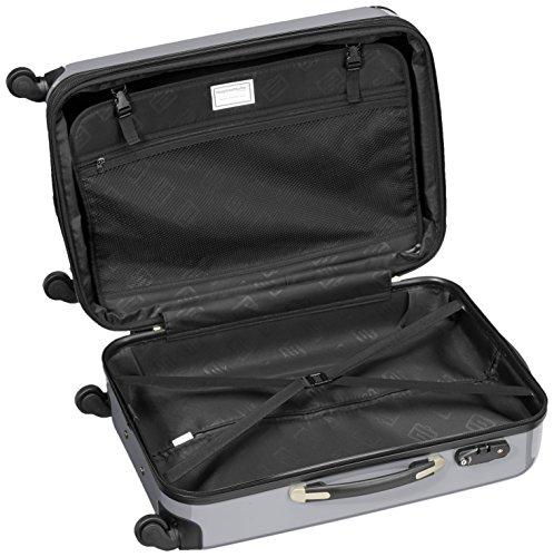 HAUPTSTADTKOFFER – Alex – Koffer Hartschale Titan glänzend, TSA – 74 Liter - 6