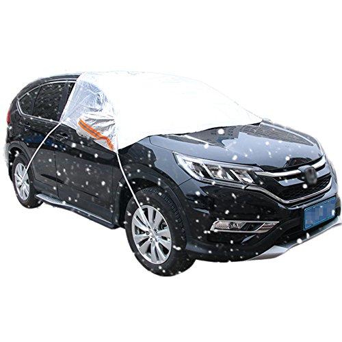 DaoRier Housse Voiture Pare-Soleil pour demi-masque Film d'aluminium scheibenabdeckung été Voiture Pare-Brise Voiture est la plupart des voitures 248*178cm SUV