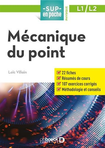 Mécanique du point