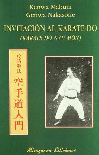 Invitación Al Karate-Do (Medicinas Blandas) por Kenwa y Nakasone, Genwa Mabuni