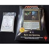 Commander 2015 Deck Rufe die Geister - Call the Spirits - Deutsch German + 100 Docsmagic.de Card Games Sleeves - Magic: The Gathering