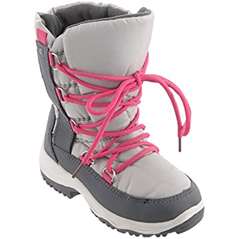 Grip Lace Up Snow Boot invernale bambina, grau -