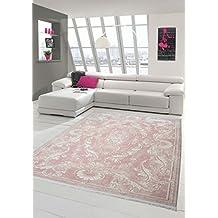 Rosa teppich  Suchergebnis auf Amazon.de für: Teppich altrosa