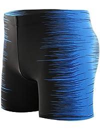 99a09b60421e quanjucheer Uomo Plus Dimensioni Spiaggia Pantaloni Corti Quick Dry Surf  Boxer Nuoto Trunks Swimwear Traspirante Confortevole