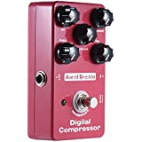 ammoon Digital Compresor de Audio Pedal de Efecto True Bypass Cuerpo de Aleación de Aluminio