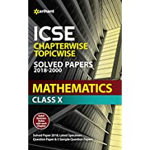 ICSE Mathematics Chapterwise Topicwise Solved Papers Class 10th