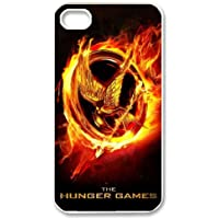 HXYHTY Customized Print The Hunger Games Pattern Back Case for iPhone 4/4S