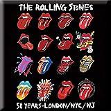 Magnet Metal Rolling Stones