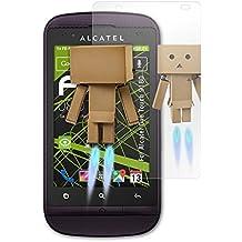 Alcatel One Touch 918D Spiegelfolie - atFoliX FX-Mirror Displayschutz Folie mit Spiegeleffekt