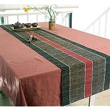 JIANFEI Runner Ecologia originale tessitura fatto a mano Di alto livello, 2 colori, 7 taglie opzionali ( Colore : A , dimensioni : 45*200cm )