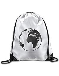 Preisvergleich für MaJack Earth Cool Turnbeutel mit Kordelzug für Reisen, Schulrucksack