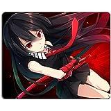 Akame Ga Kill Akame Murasame Black Long Hair Girl Anime Game Gaming Mouse Pad