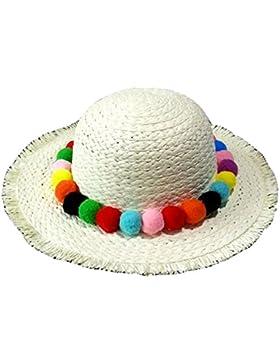 Niñas Primavera Y El Verano Sombrero De Paja Versión Coreana Del Bulbo Piloso