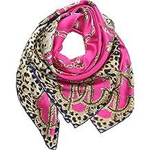 0346367a0396 Helan femmes Réel Soie Naturelle 110 X 110 cm foulards carrés