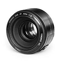 Yongnuo YN EF 50 mm f/1.8 Canon EF Kamera Canon Digital Rebel için Objektif