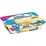 Nestlé Ptit gourmand mini vanille 6x60 g - ( Prix Unitaire ) - Envoi Rapide Et Soignée