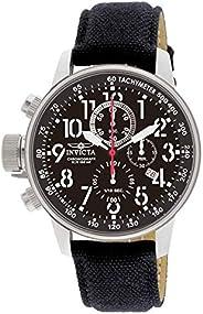 Invicta I-Force Men's Wrist Watch Stainless Steel Quartz Black Dial -