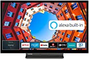 Toshiba 32WK3C63DA 32 Zoll Fernseher (HD ready, Smart TV, Prime Video / Netflix, Alexa Built-In, Bluetooth, WL