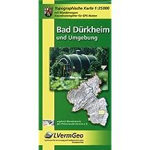 Bad Dürkheim und Umgebung 1 : 25 000. Naturparkkarte P6: Mit Wanderwegen
