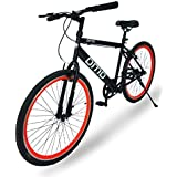 Omobikes Model-1.0 Lightweight |13kg| Fast Light Weight Hybrid Cycle with Alloy Rims, Anti Rust Frame