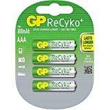 GP Blister de 4 piles rechargeables Recycko+ AAA 1,2 V