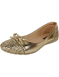 Authentic Vogue Women's Synthetic Bellies - Golden
