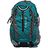 Inlander A2ZIL1015SGRS Polyester Rucksack with Rain Cover, Medium (Sea Green)
