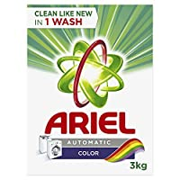 Ariel Color Automatic Laundry Powder Detergent 3 kg, Pack of 1