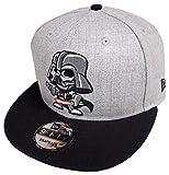 New Era Darth Vader Toki Heather Grey Snapback Cap 9fifty 950 Limited Edition