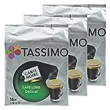 Tassimo Cápsulas de Café Carte Noire Colombia, Café Molido de Tueste Natural, Arábica, 3 x 16 T-Discs