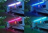 RGB COLOUR CHANGE LED Light 12V DC Caravan Motorhome Outdoor Lighting F45 F65 (50CM)