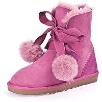 Stivali di pelliccia di pecora australiana/Stivali da neve/ caldo cotone scarpe da (Classic Short Pelle Di Pecora)