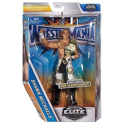 WWE Wrestlemania 33 Elite Serie Actionfigur - Shawn Michaels Mit Geflügelt Eagle Meisterschaftsgürtel (Shawn Michael Wwe Spielzeug)