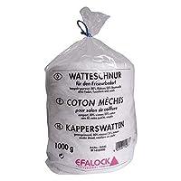 Efalock Cotton Cord Pressed 80% Viscose 20per cent cotton, 1er Pack (1x 1Kg