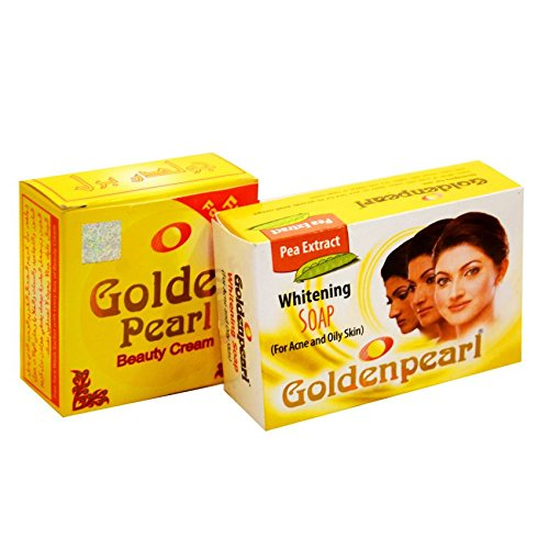 Golden Pearl Beauty Cream And Soap (Pack of 2)
