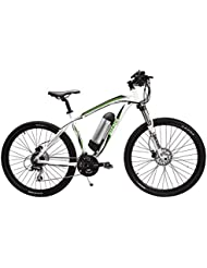 Fenetic Sprint Electric Mountain Bike E-bike with LCD Display, Samsung battery, Suspension, 24 gears, Hydraulic disc brakes