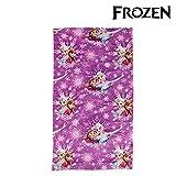 Frozen–2200001613–Plüsch–Schal mit dem Bild, Einheitsgröße