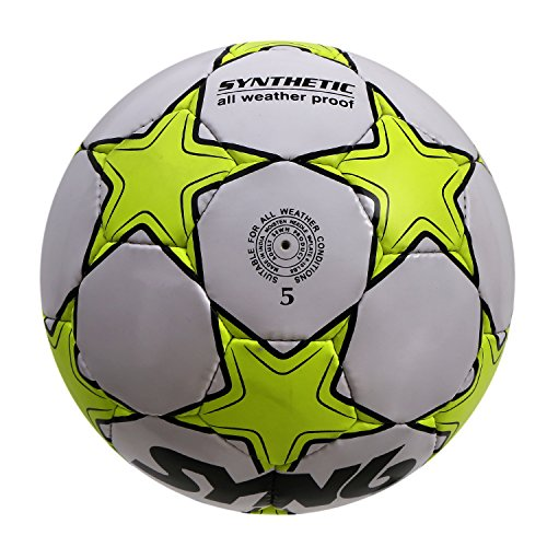 SYN6-Launch-Offer-SYNSHINE-Football-Size-5-fluorescent-Green-Rubber-Soccer-Ball-for-Hard-Grounds
