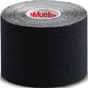 Mueller Kinesiology Tape - Black, 5cm x 5m
