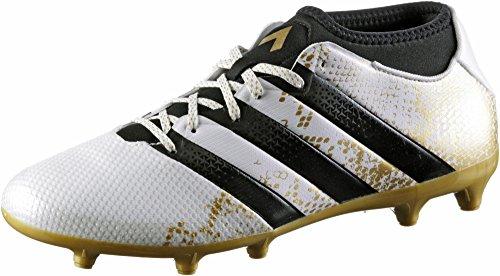 adidas Herren Ace 16.3 Prime Aq3442 Fußball-Trainingsschuhe Weiß (Ftwr White/Gold Metallic/Core Black)