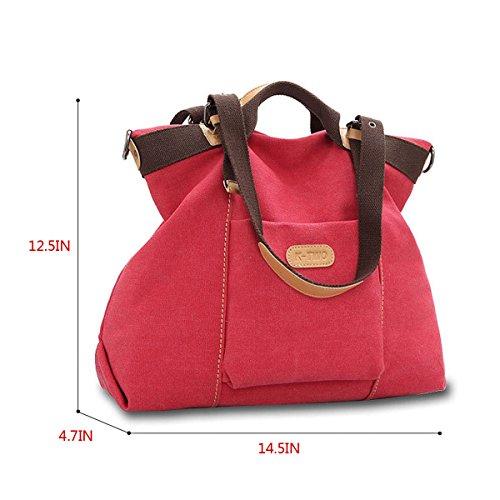 La Haute Borsa A Spalla Da Donna Rossa rossa Lhte56 Rossa ... 9c71f202c33