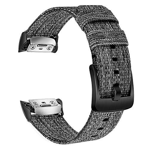 TRUMiRR Gear Fit2 PRO Cinturino, Cinturino in Nylon Intrecciato Genuino Cinturino Fibbia in Acciaio Inossidabile Sports Braccialetto per Samsung Gear Fit 2 SM-R360 / Gear Fit2 PRO SM-R365 Smartwatch