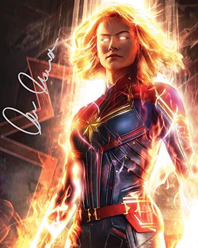 Brie Larson 1 Carol Danvers Marvel Foto-Nachdruck, 25,4 x 20,3 cm, für 25,4 x 20,3 cm große Rahmen in Laborqualität, Fotodisplay