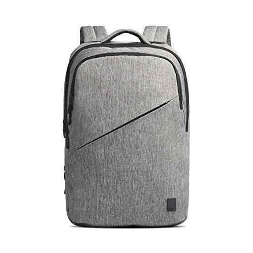Bag Laptop-tasche Satchel (Cai 15.6 '' Business Laptop Tasche Wasserdicht Rucksack Multifunktionale Satchel Bag Dual Fan Rucksack Schulwanderung Reisetasche Commuting Tasche mit USB Ladeloch für Männer Frauen 7217 Light Grey)