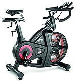 BH Fitness Air Mag manuell GG Spining–Fahrräder für Spinning (510mm, 1280mm, 560mm, 48kg, 18kg, LCD)
