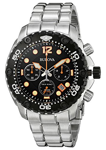 bulova-sea-king-mens-quartz-watch-with-black-dial-analogue-display-and-silver-stainless-steel-bracel