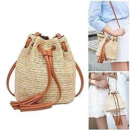 d846b89d2c BASON borsa paglia,borsa intrecciata,Nuove borse da tracolla a tracolla da  viaggio in ...