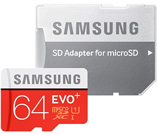 samsung-memory-64-gb-evo-plus-microsdxc-uhs-i-grade-1-class-10-memory-card-with-sd-adapter-black-red