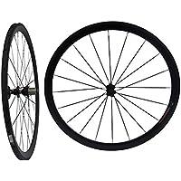 3 K de carbono ruedas tubulares de bicicleta de carretera 38 mm para rueda de bicicleta