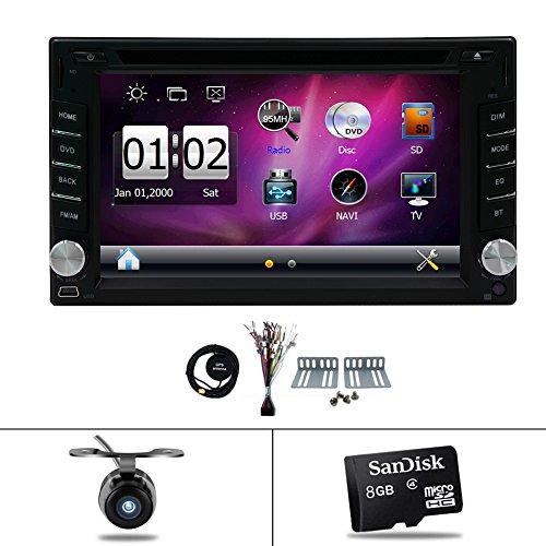 """Navigazione Seller- privilegiato Vendita 6.2 """"dello schermo di tocco di HD di GPS di navigazione per auto radio stereo in-dash USB 2 DIN WIN 8 UI veicolo Lettore DVD Bluetooth con la macchina fotografica di sostegno"""